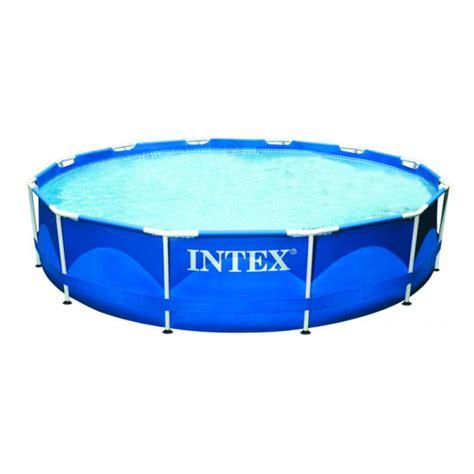 piscine intex tubulaire 3 66 piscine tubulaire intex metal frame 3 66 x 0 76m avec
