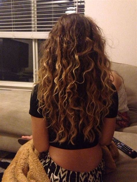 highlights curly hair ideas  pinterest ombre