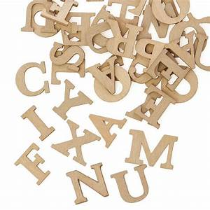 miniature grey wood uppercase letters word and letter With mini wooden craft letters