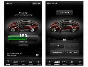 Motorburn Tesla releases app for its Models S electric car on iOS and Android