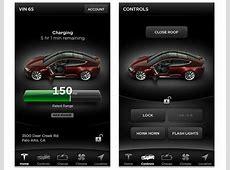 Motorburn Tesla releases app for its Models S electric