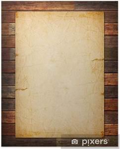 Von Papier Auf Holz übertragen : poster altes papier auf dem holz hintergrund pixers wir leben um zu ver ndern ~ A.2002-acura-tl-radio.info Haus und Dekorationen