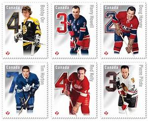 Canada Post Issues New Hockey Stamps