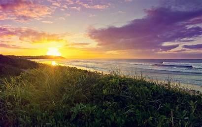 Sunrise Beach Wallpapers 4k Resolution Nature Desktop