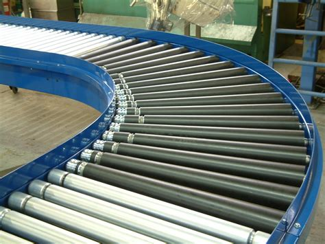 Line−shaft Powered Roller Conveyors