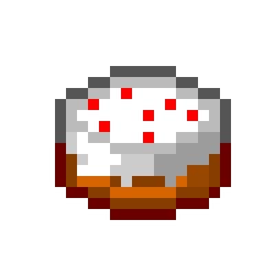minecraft cuisine pixel minecraft cake cake food minecraft by