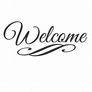 welcome vinyl lettering trendy wall designs With decal lettering styles