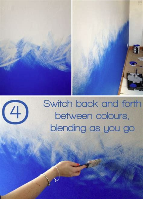 ombre ombre reviving the paint effect with dulux diy