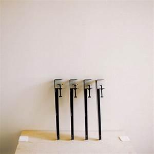 Pied De Table Original : les pieds de table en m tal the floyd leg ~ Teatrodelosmanantiales.com Idées de Décoration
