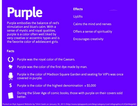 purple meaning of color color meanings chart aura color meanings colors