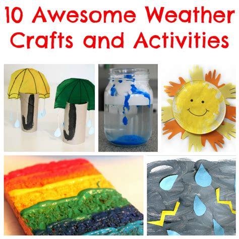 weather crafts and activities tuesday tutorials crafts 324 | weather crafts and activities for kids
