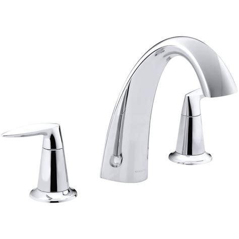 kohler alteo 8 in 2 handle high arc bathroom faucet trim
