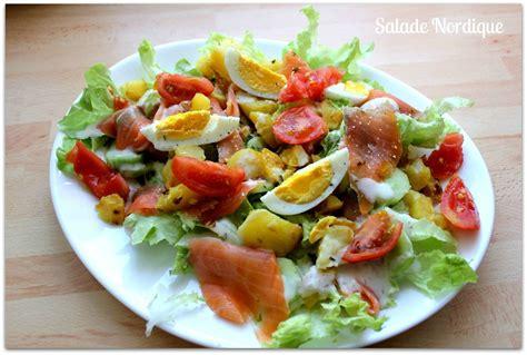 comment decorer une salade composee assiette salade