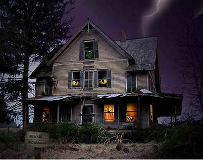Haunted Halloween Houses Scary Phone
