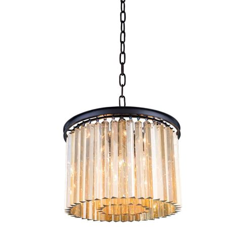 Brown Chandeliers by Y Decor Musella 6 Light Brown Wood Chandelier With Wood