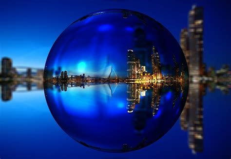 Captivating Photo Of Rotterdam In A Bubble  The Amazing Pics