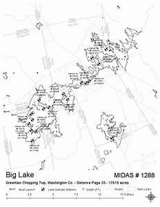 Lakes of Maine - Lake Overview - Big Lake - Grand Lake ...