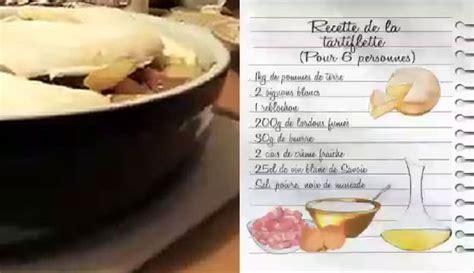 recettes de cuisine pdf 26122015 lcdj recette de la tartiflette de magalie pdf la