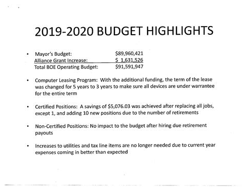 budget west haven board education