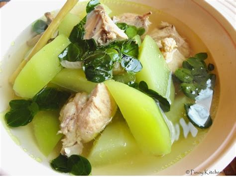 Pinoy Food Recipes Filipino Dishes Tinolang Manok