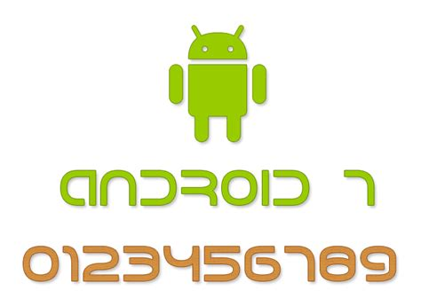 android fonts android 7 font dafont