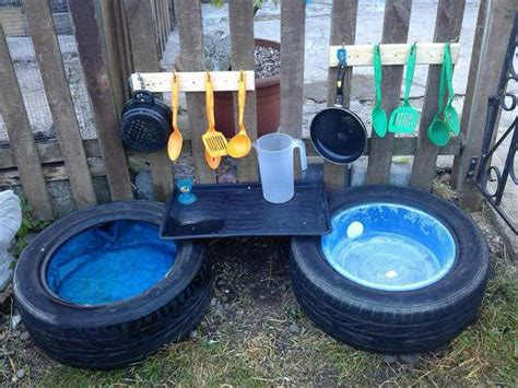 10 Fun Outdoor Mud Kitchens For Kids