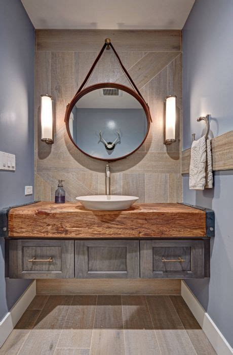 Rustic Modern Bathroom Vanities by Fabulous Bathrooms In Industrial Style Rustic Style