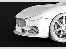 ASPEC Maserati Ghibli Carbon Fiber Kit from China Packs