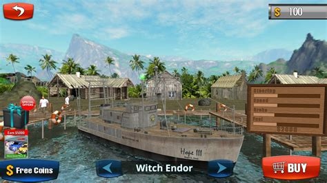 Boat Driving by Fishing Boat Driving Simulator Ship Android