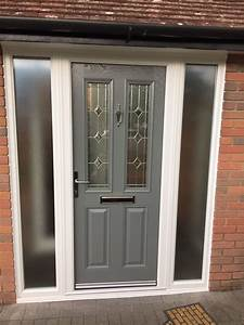 Grey Composite Door Fitted In Waltham Abbey By Canon Windows
