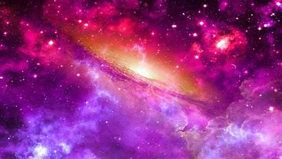 Galaxy Pink Cloud Space Screen 1080p Desktop