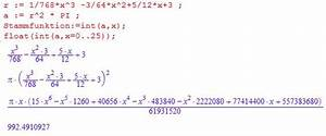 Funktionswert Berechnen : rotationsvolumen rotationsvolumen f llh he berechnen mathelounge ~ Themetempest.com Abrechnung