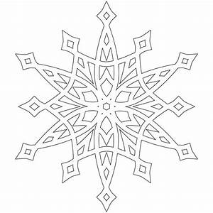 snowflakes color pages - snowflake coloring pages the sun flower pages