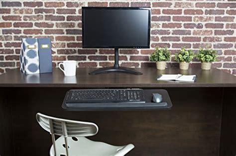 keyboard mount under desk vivo adjustable computer keyboard mouse platform tray