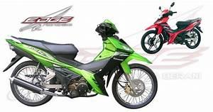 Spesifikasi Motor  Spesifikasi Motor Kawasaki Edge Vr