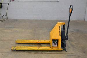 Multiton Electric Scissor High Lift Pallet Jack  U2013 2200lbs