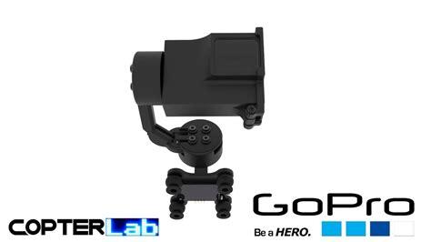 gopro gimbal  axis gopro hero  top mounted fpv gimbal