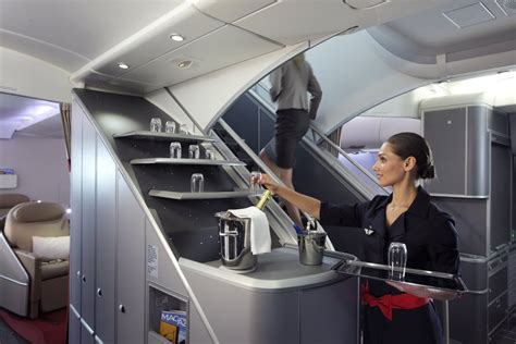 Business Flight Air France A380 Cabin Interior Pictures