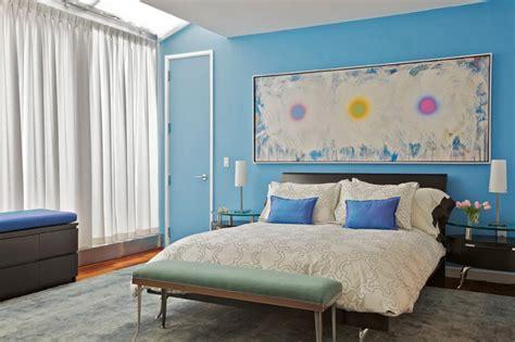 Monochromatic Bedroom by Monochromatic Blue Bedroom