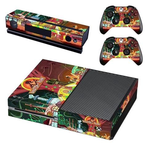 Skin Cover For Xbox One Rick And Morty Design 17