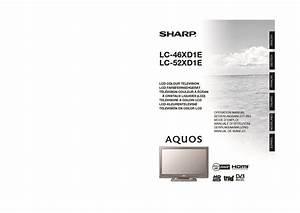 Sharp Lc  Operation Manual