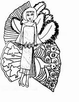 Flapper Coloring Pages Getcolorings Fans Printable sketch template