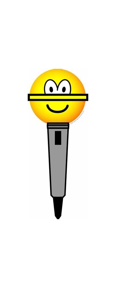 Microphone Emoticon Microfoon Smile Smilies Emoticons Emofaces