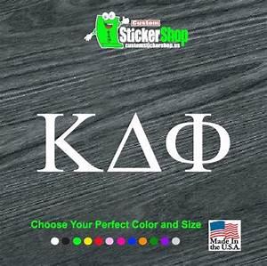 custom greek letters classic fraternity sorority decal With custom greek letter stickers