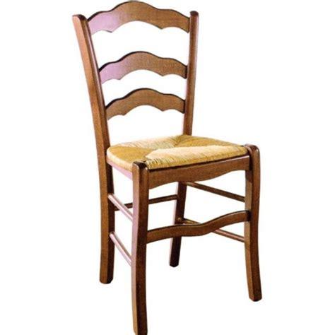 chaise bois et paille nonna