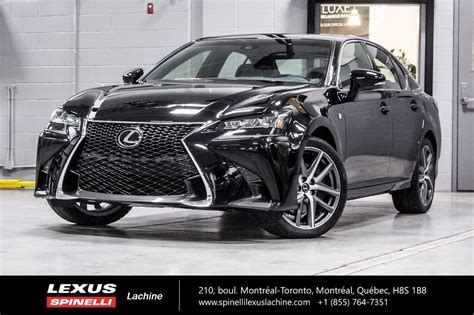 used 2018 lexus gs 350 f sport ii reserve on hold for sale in montreal demo 18tl013