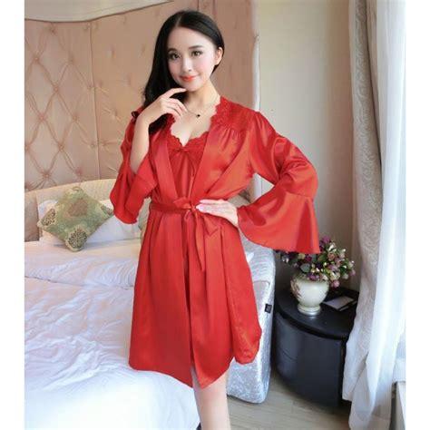 jual baju tidur kimono lengan panjang baju tidur