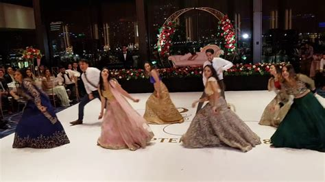 indian bollywood wedding reception dance  youtube