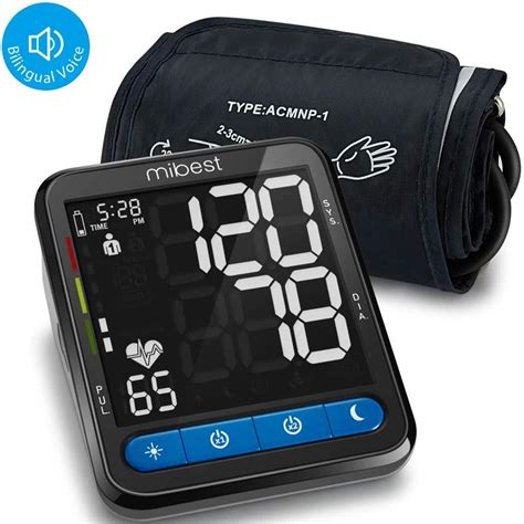 Amazon.com: MIBEST Wrist Blood Pressure Monitor with