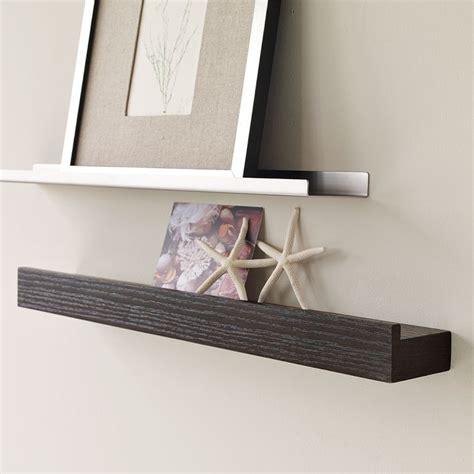 floating wall shelf wood picture ledge